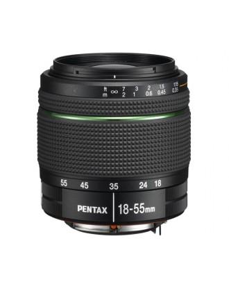 Obiectiv foto Pentax DA 18-55mm F3.5-5.6 SMC AL WR