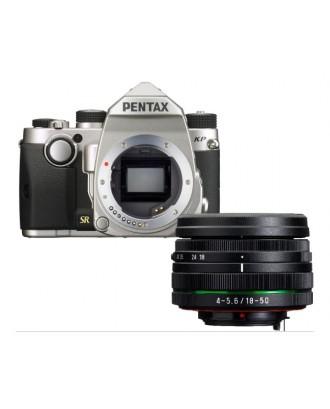 Pentax DSLR KP silver + 18-50mm DA-L WR