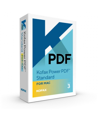 Kofax Power PDF Standard for MAC