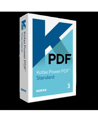 Kofax Power PDF Standard for Windows